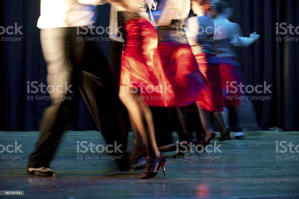 dance forever stock photo