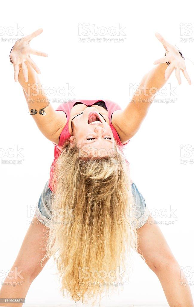 Dance Fun royalty-free stock photo