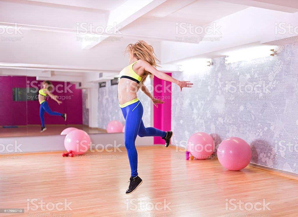 Dance instructor stock photo