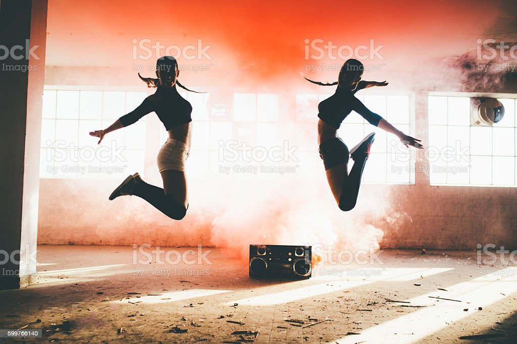 Dance is Power! stock photo
