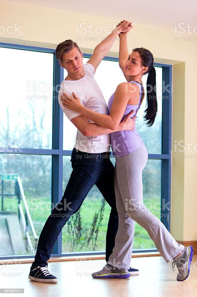 Dance Lesson stock photo