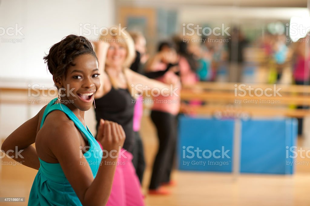 Dance Lessons stock photo