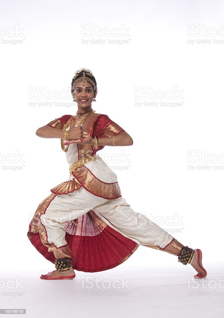 Dance of India royalty-free stock photo