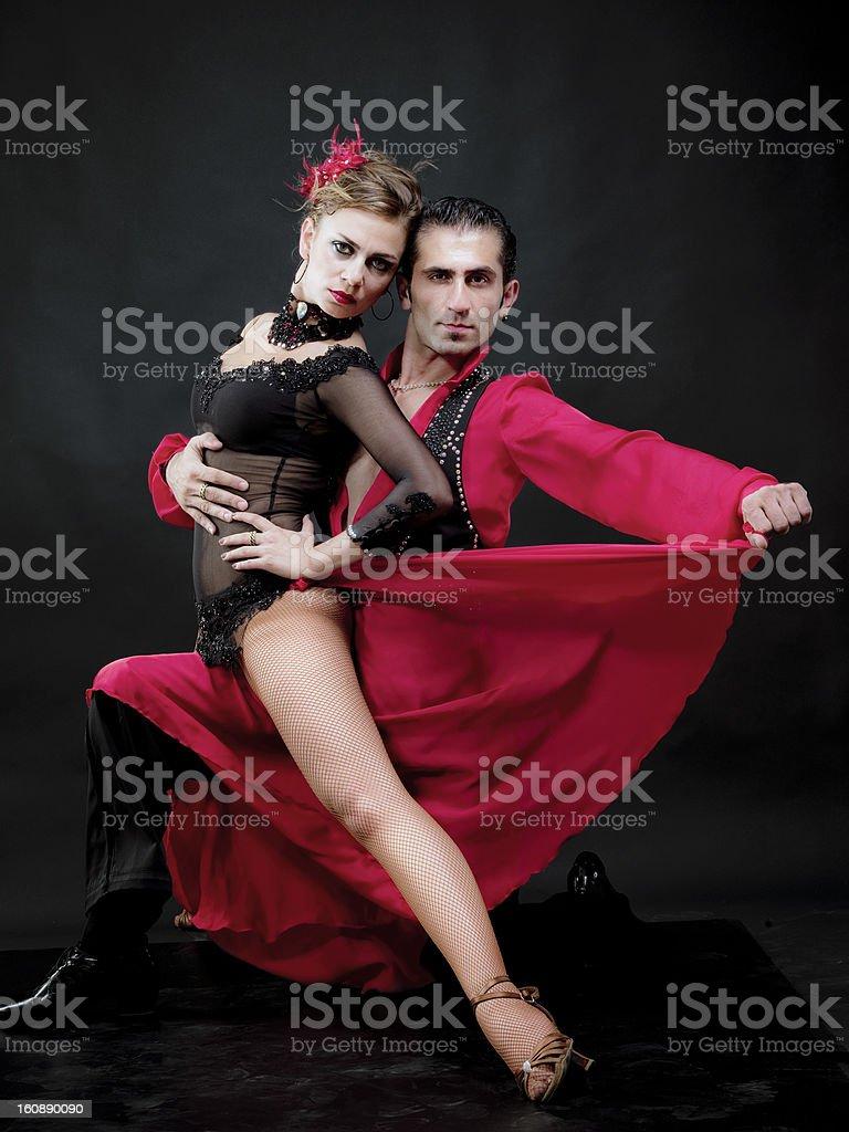 Dance of love stock photo