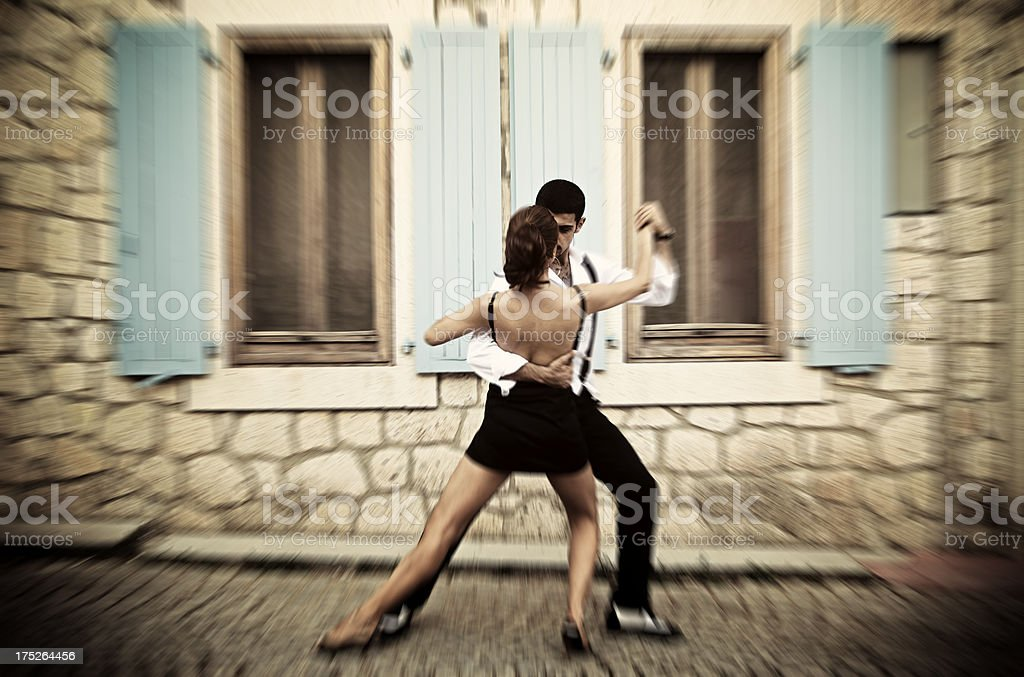 Dance of Love royalty-free stock photo
