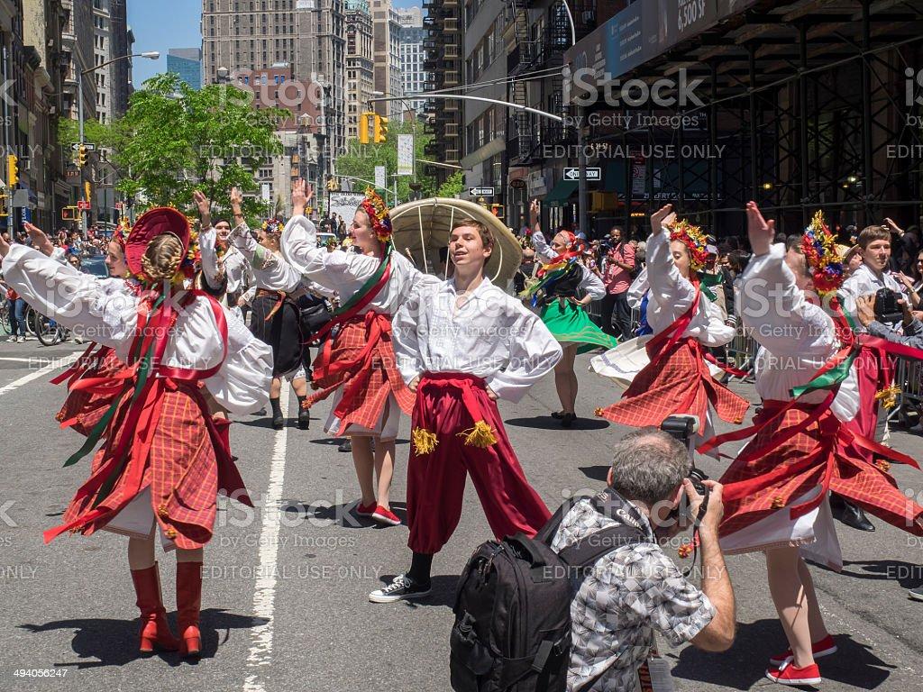 Dance Parade 2014 stock photo