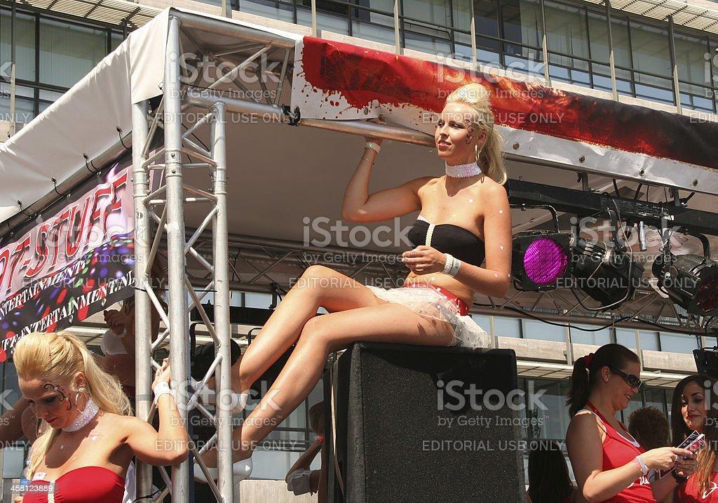 Dance Parade royalty-free stock photo