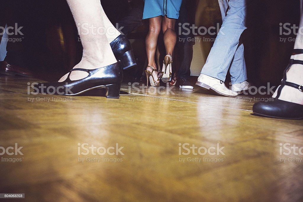 Dance Party stock photo