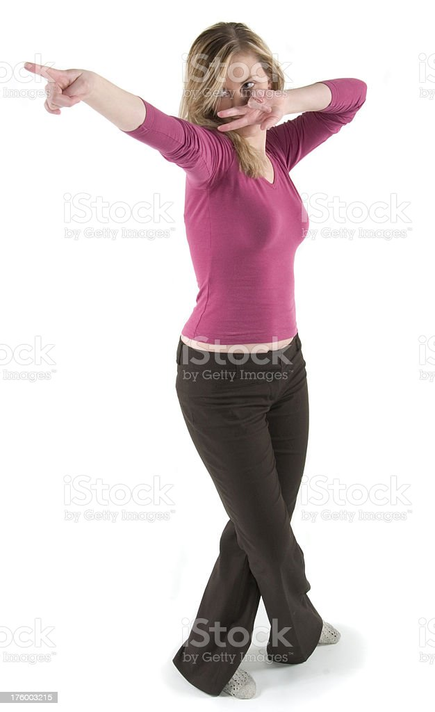 dance point royalty-free stock photo