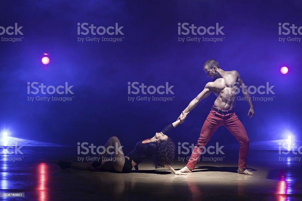 Dance Power stock photo