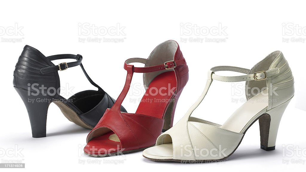 Dance shoes royalty-free stock photo