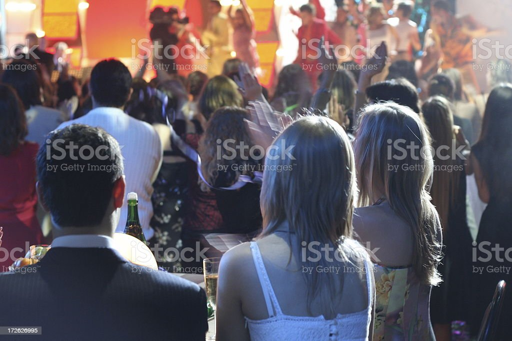 dance show in night club royalty-free stock photo