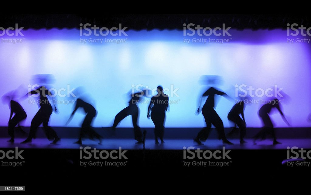 Dance Theater stock photo