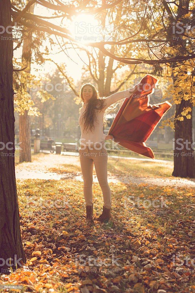 Dance to beautiful day stock photo