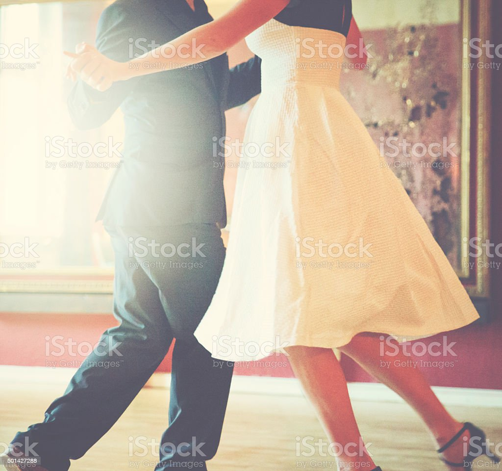 Dance with me stock photo