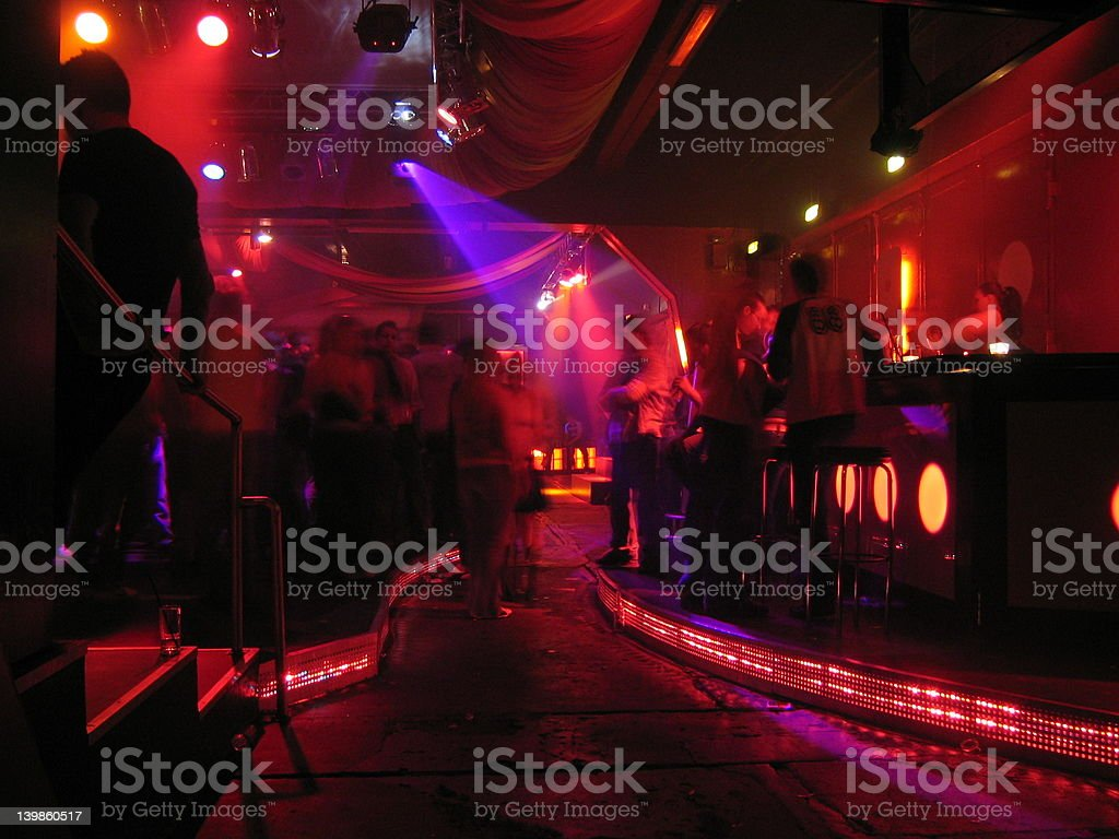 Dancefloor Munich royalty-free stock photo