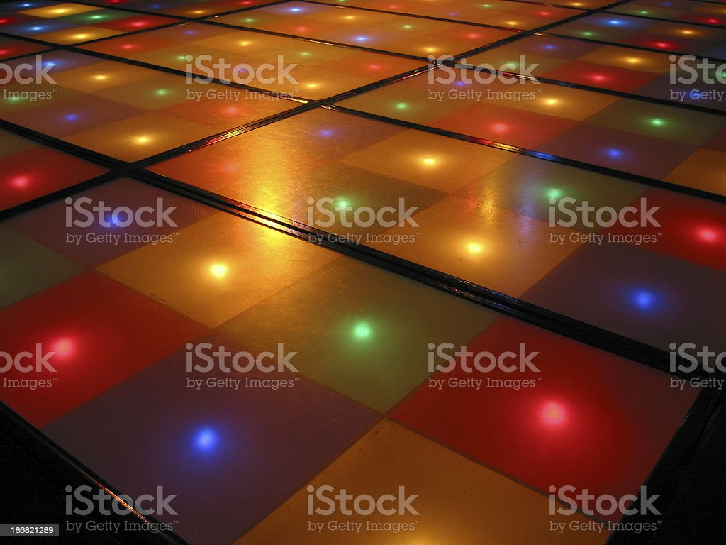 Dance-floor royalty-free stock photo