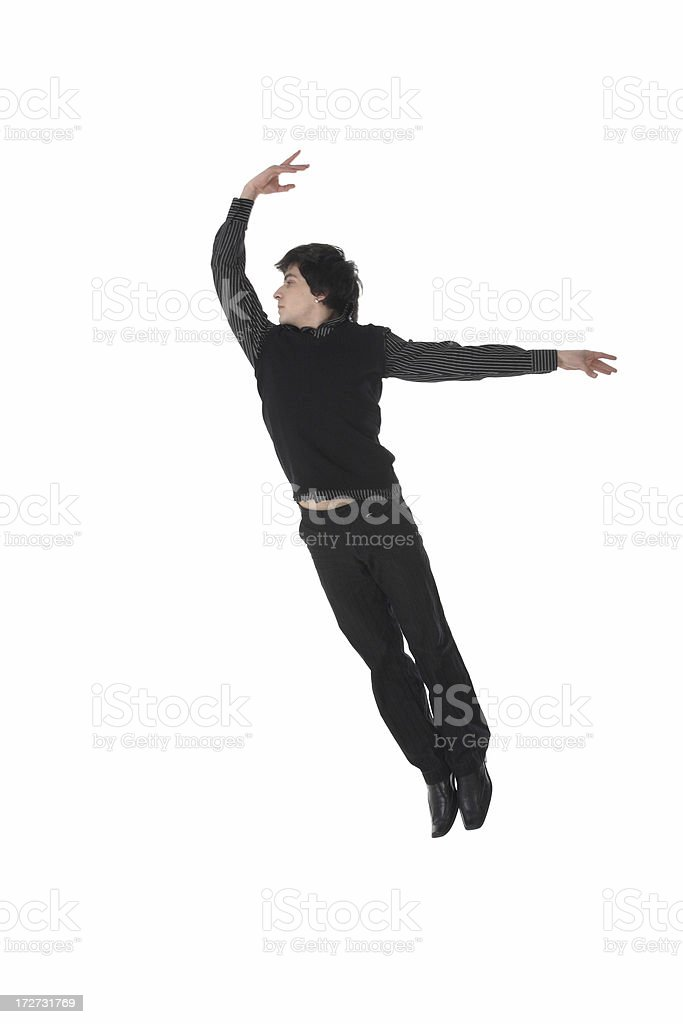 dancer businessman royalty-free stock photo