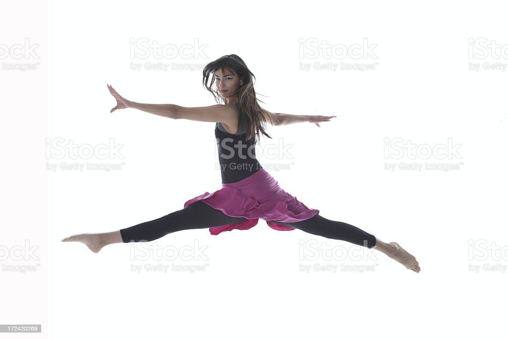 Dancer Girl royalty-free stock photo