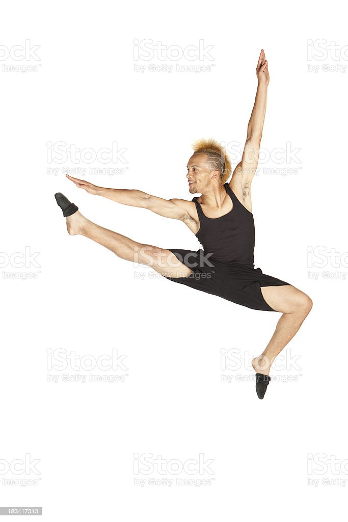 Dancer in the Air royalty-free stock photo