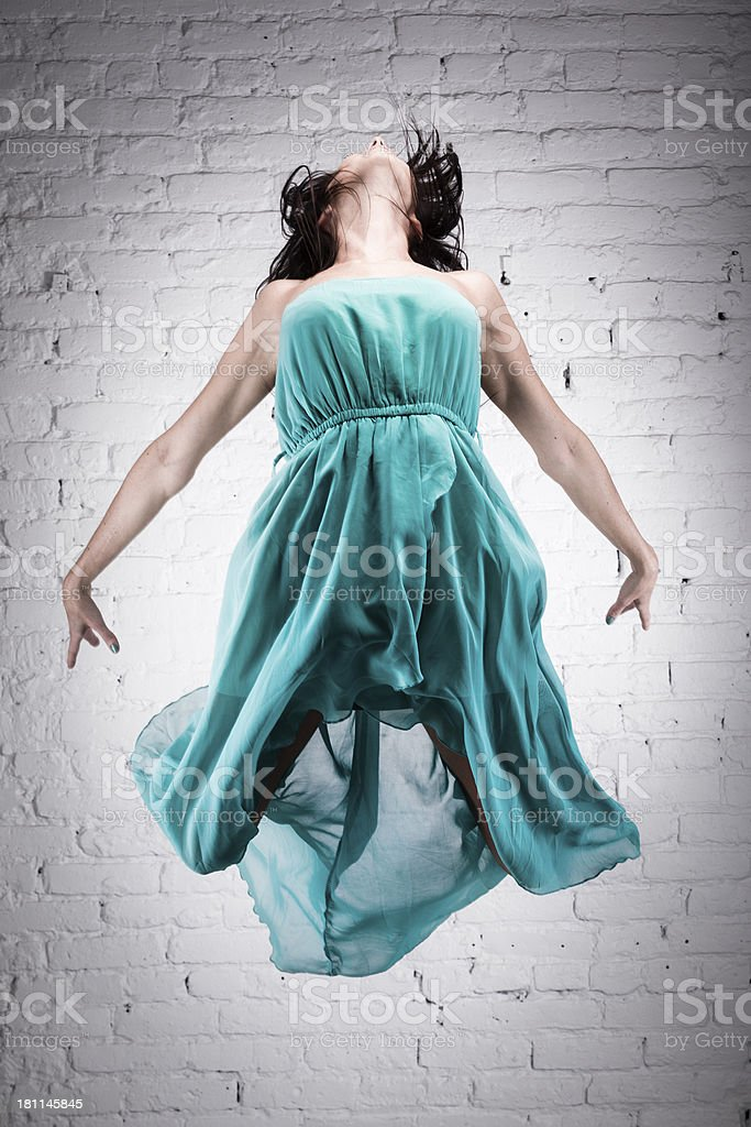Dancer Jumping royalty-free stock photo
