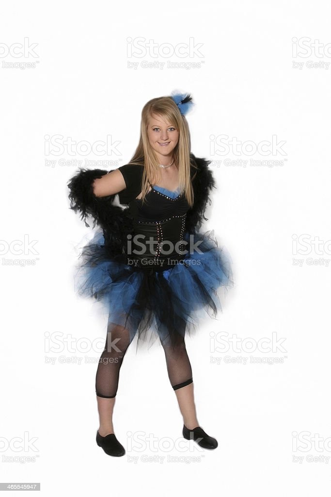 Dancer royalty-free stock photo