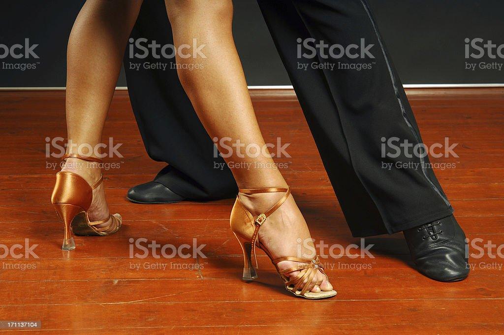 Dancers Feet royalty-free stock photo