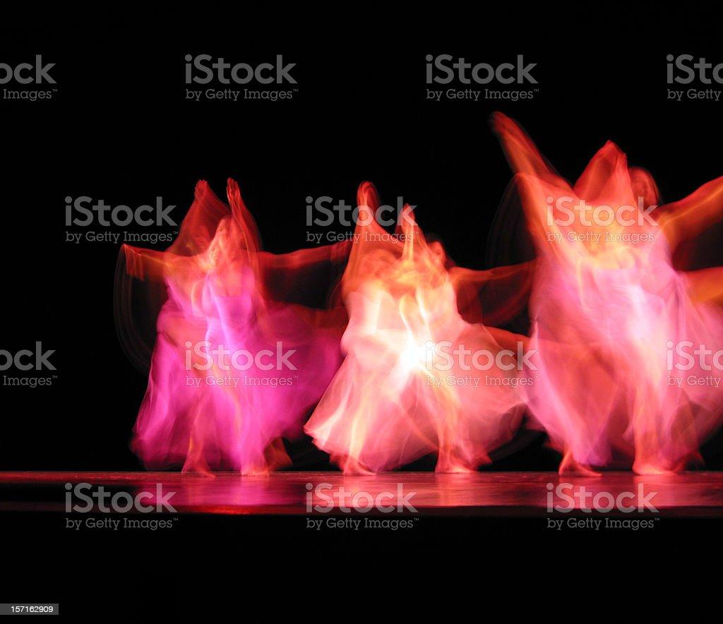 Dancers III stock photo