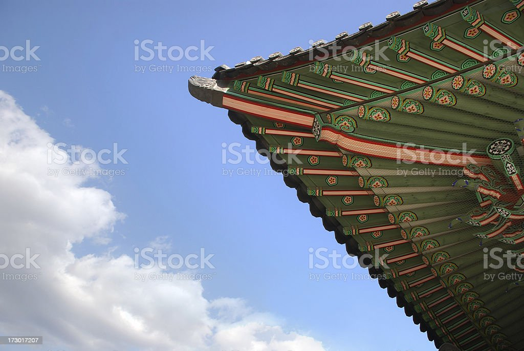 Dancheong stock photo