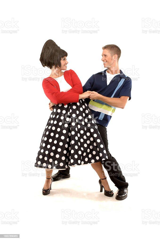 dancing again stock photo