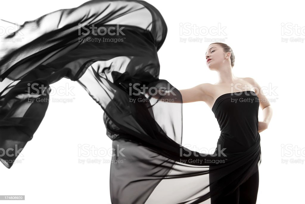 Dancing Beauty royalty-free stock photo