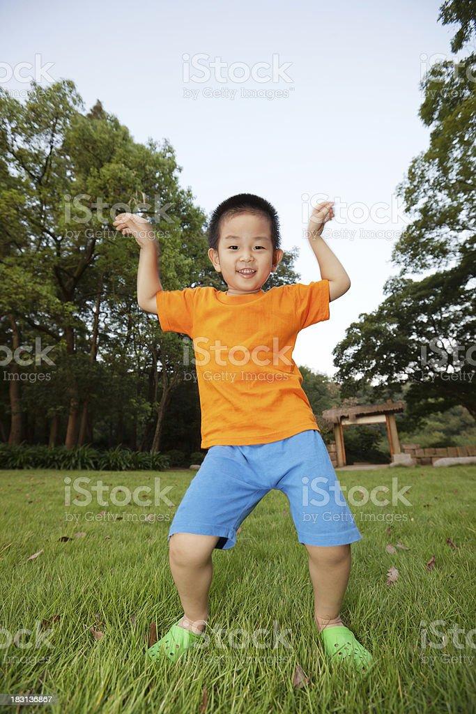 dancing boy stock photo