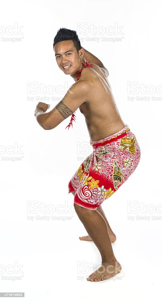 Dancing dancer royalty-free stock photo