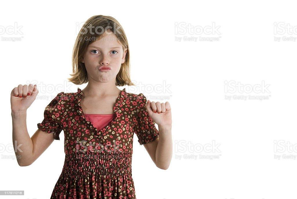 Tanz Mädchen Lizenzfreies stock-foto