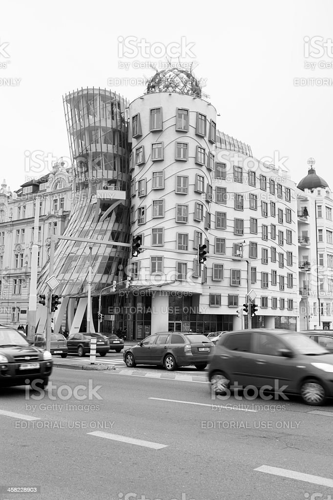 Dancing House royalty-free stock photo