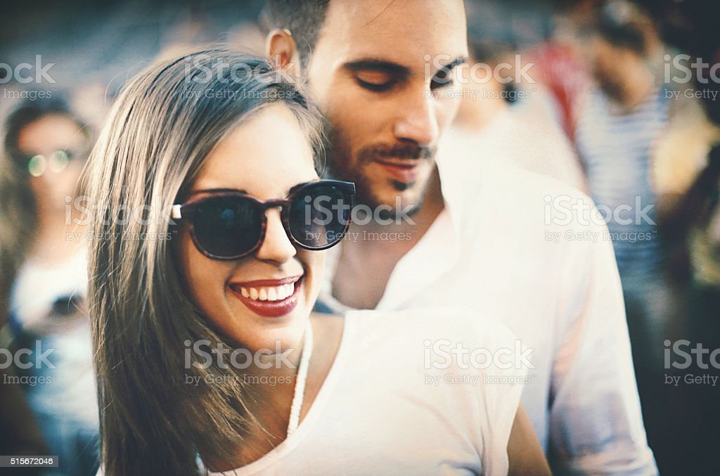 Dancing hype. stock photo
