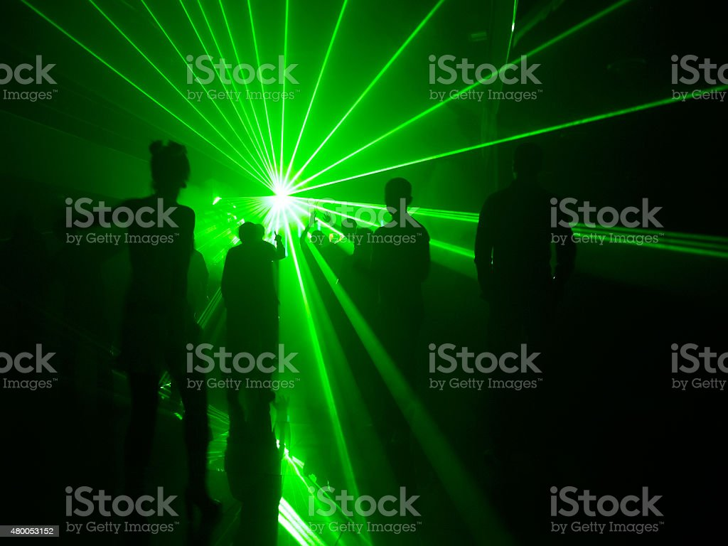 Dancing in the light stock photo
