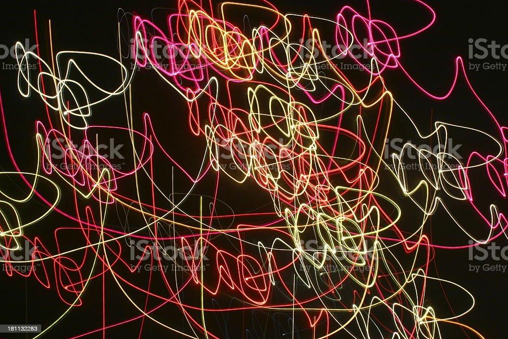 Dancing Lights 2 royalty-free stock photo