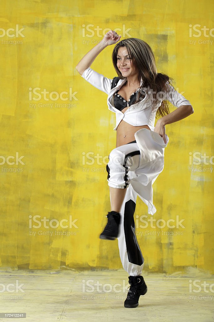 dancing modern dance royalty-free stock photo