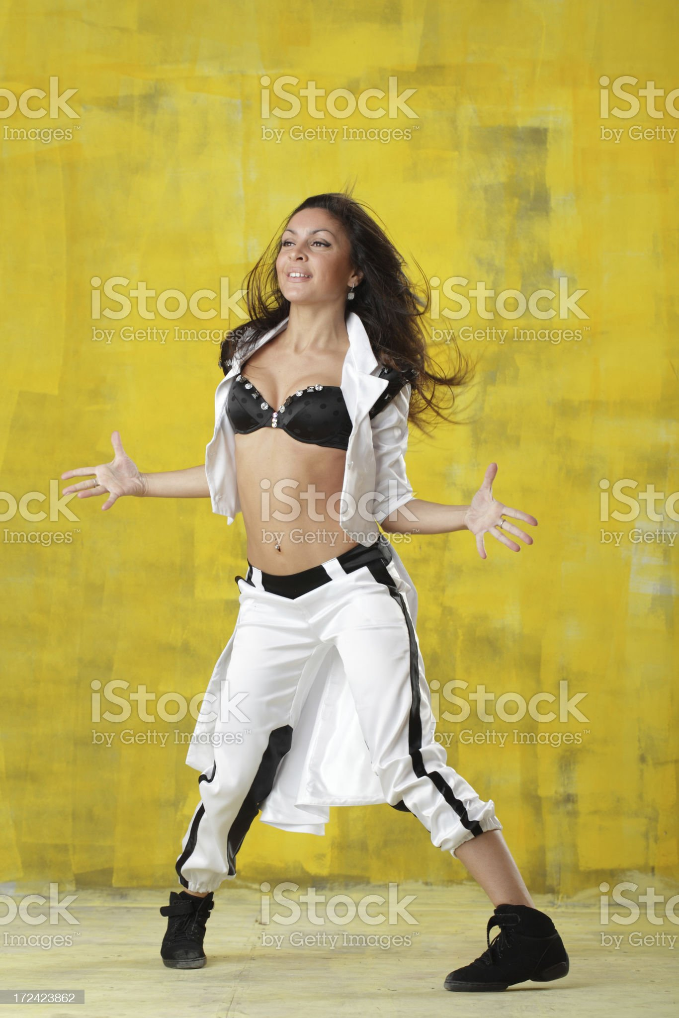 dancing modern dance royalty-free stock photo