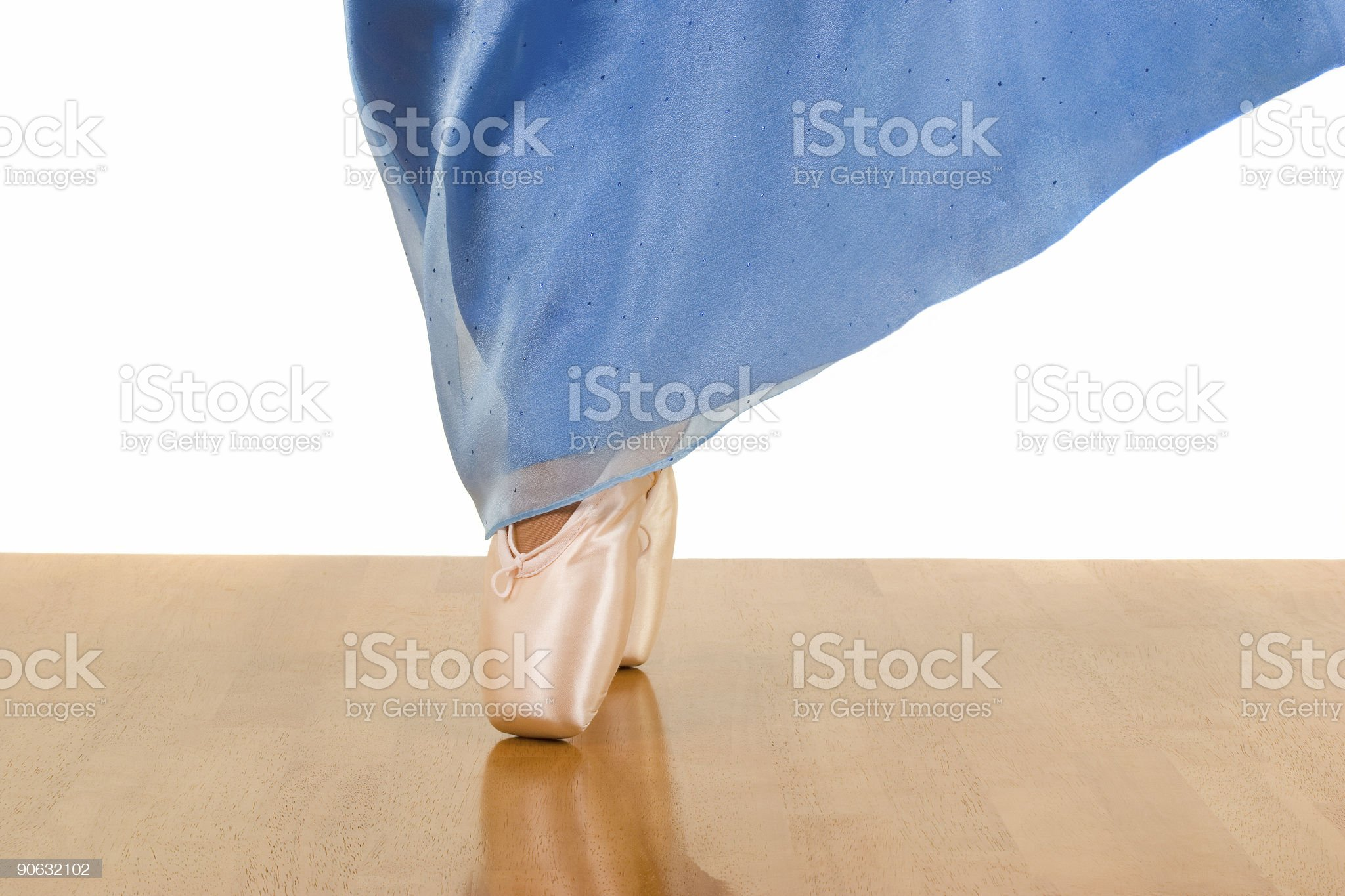 Dancing on the floor royalty-free stock photo