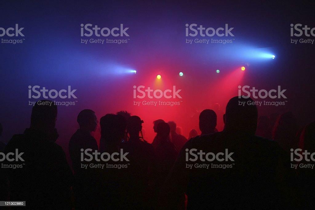 dancing people royalty-free stock photo
