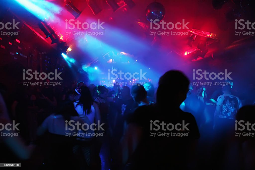 dancing people royalty-free stock photo