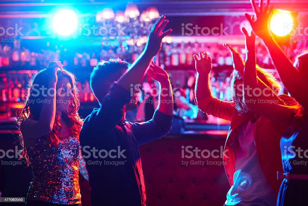 Dancing stock photo