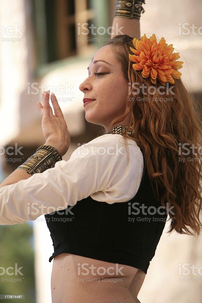 Posa di danza foto stock royalty-free