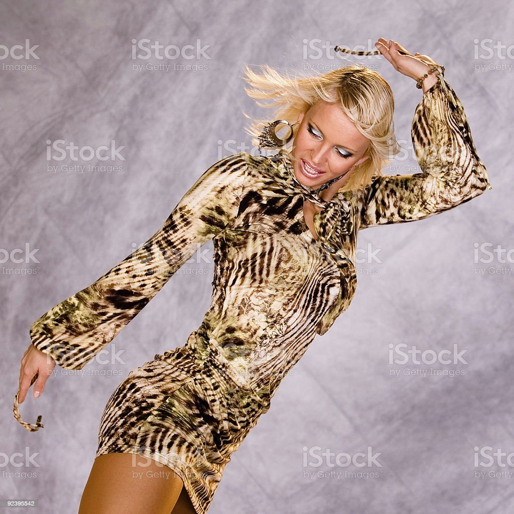 Dancing Queen royalty-free stock photo