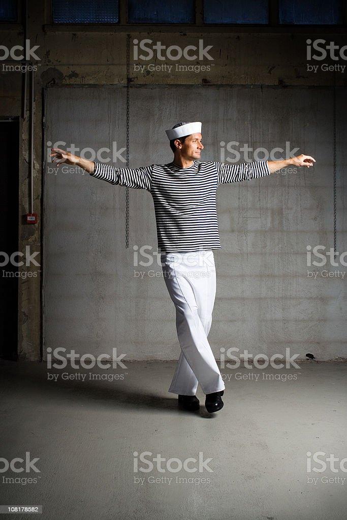 Dancing Syrtaki royalty-free stock photo