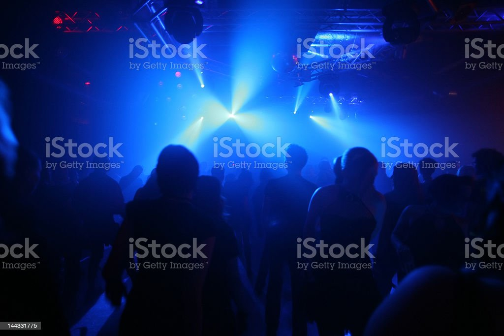 Dancing teenagers royalty-free stock photo