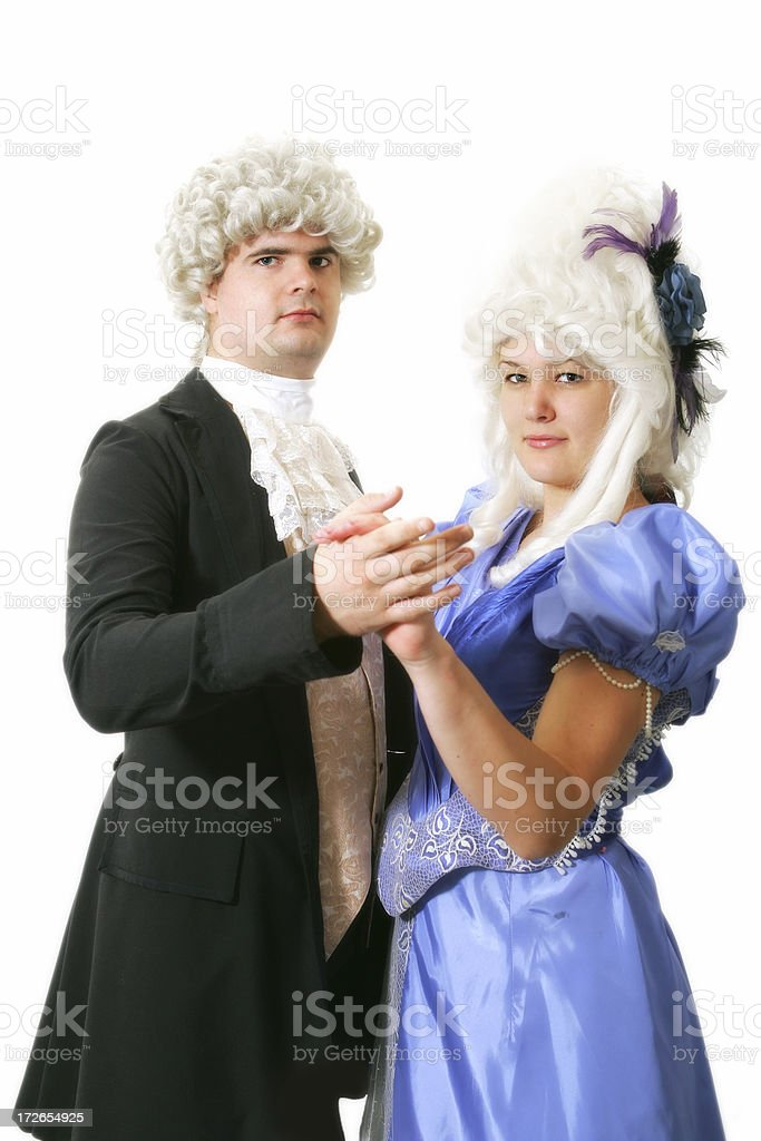 Dancing the Waltz royalty-free stock photo