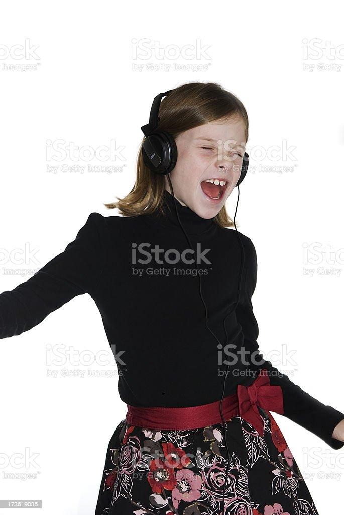 Tanzen Sie zur Musik Lizenzfreies stock-foto